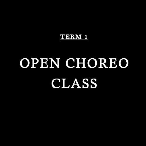 OPEN CHOREO CLASS