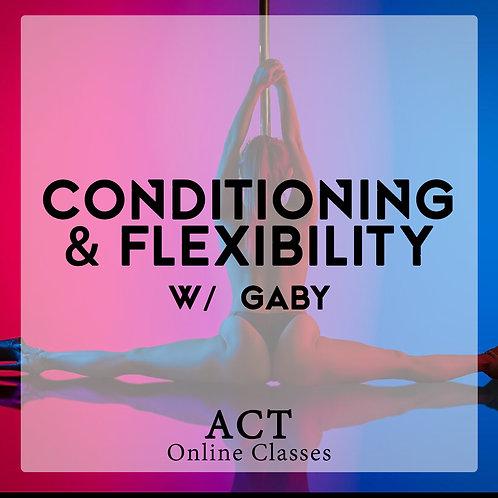 ACT Online X Conditioning & Flexibility (WEDNESDAYS 7.20PM & SATURDAYS, 11.00AM)