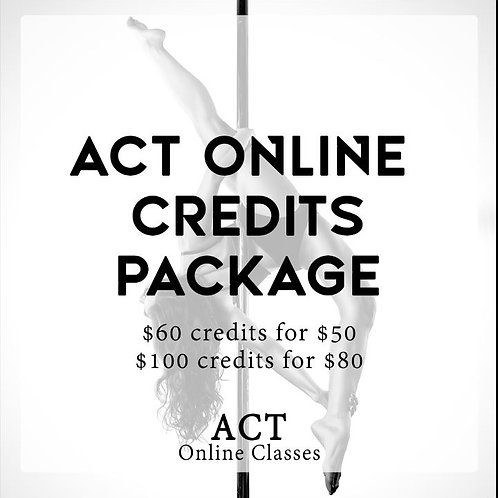 ACT Online Package Class