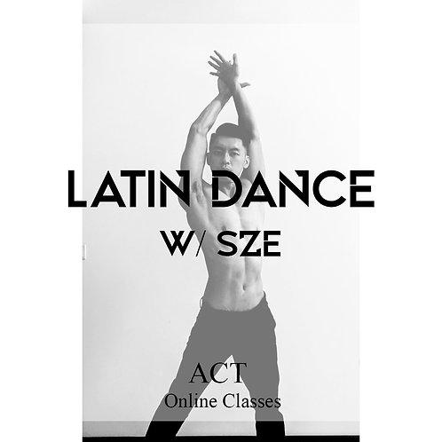 ACT Online X Latin Dance  (SUNDAYS, 11.00AM)