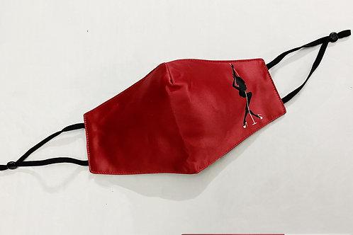 Reusable Mask - #02 Heels (Red)
