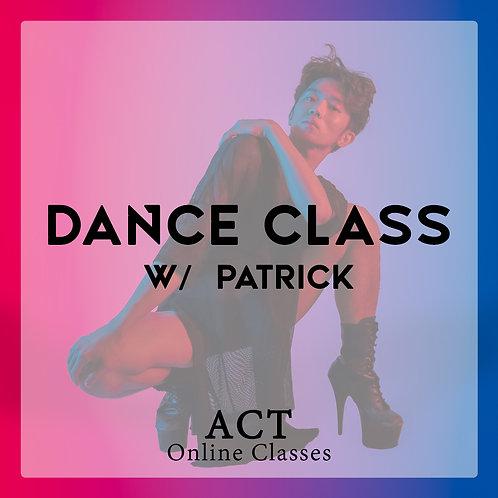 ACT Online X Dance Class  (SATURDAYS, 7.30PM)