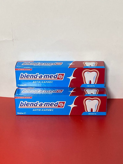 Blend-a-med. Зубная паста анти-кариес. 50 мл.