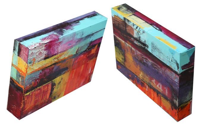 Cajas diptico