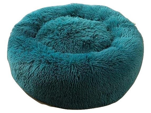 Plush Cosy Donut Bed Green 80cm