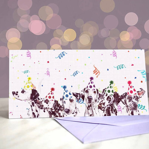 Dalmation 'Seven Mation Army'  Greetings Card