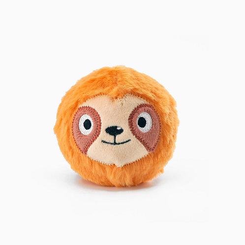 HugSmart Dog Puppy Toy Zoo Ball Sloth
