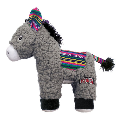 Kong Sherps Donkey Crinkle Comfort Toy