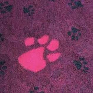 Vet Bedding Non Slip Plum Large Pink Paw
