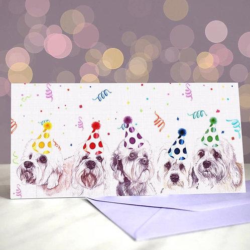 Dandie Dinmont Terrier 'Dinmonts are a girls best friend'  Greetings Card