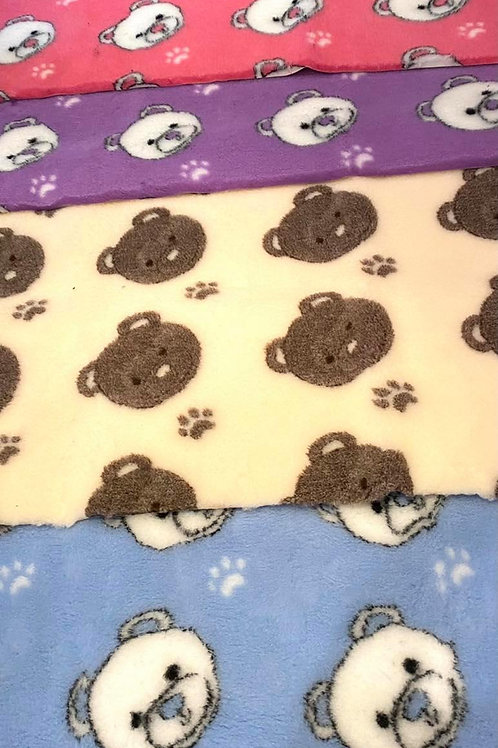 Vet Bedding Non Slip Teddy Bundle 5 pieces