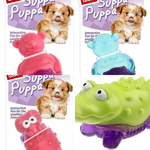 3 GigWi XS Puppy Chew Squeak Toy Offer