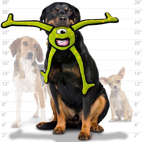 Tuffy Alien Ball Legs Dog Toy