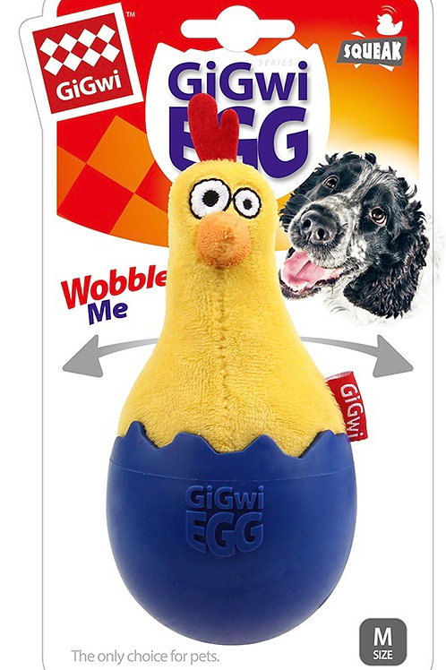 Gigwi Egg Small Dog Puppy Toy Chicken