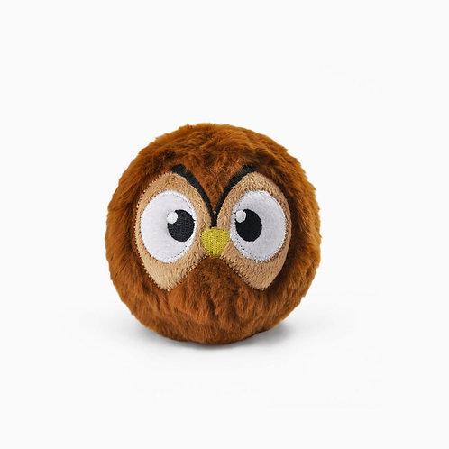 HugSmart Dog Puppy Toy Zoo Ball Owl