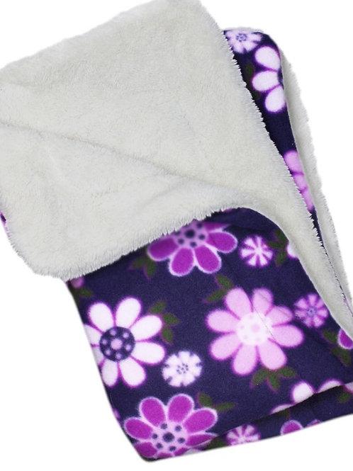 "Ultra Soft Minky Plush Double Lined Fleece Comfort Blanket 30"" x 20"""