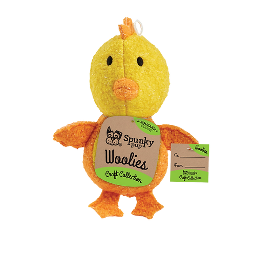 Mini Woolies Chicken Puppy Toy S