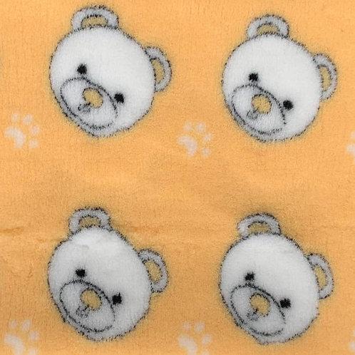 Vet Bedding Non Slip Lemon Teddy