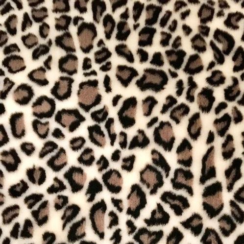 Vet Bedding Non Slip Cream Leopard