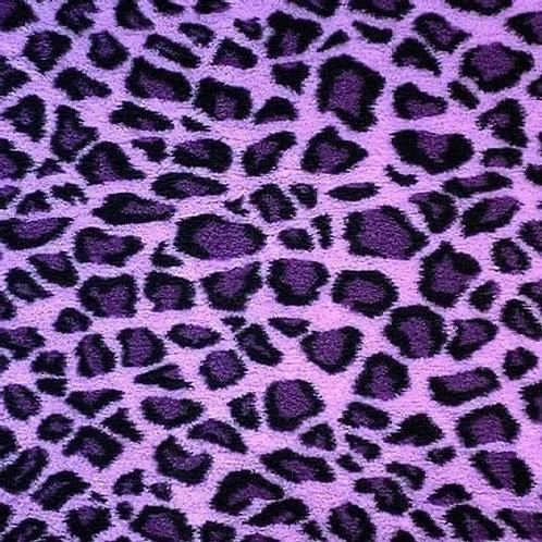 Vet Bedding Non Slip Lilac Leopard