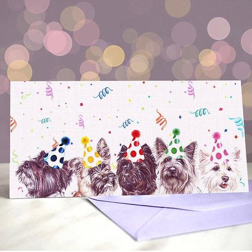 Cairn Terrier Greetings Card