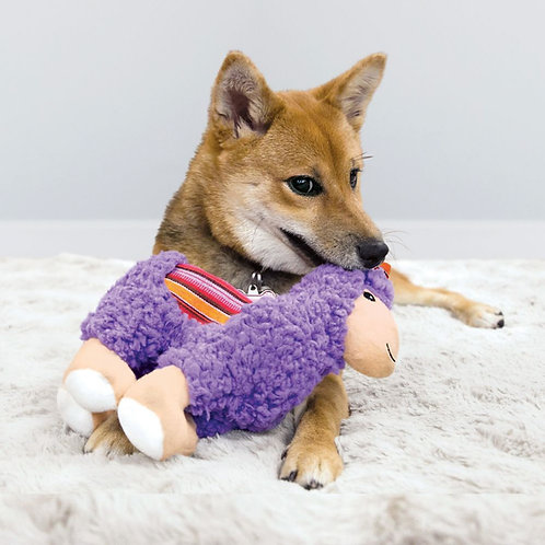 KONG Sherps Lama Crinkle Comfort Toy