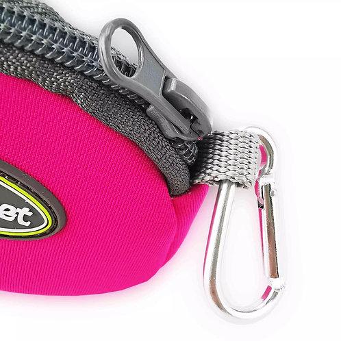 Poo Bag Holder Pouch Bag Pink