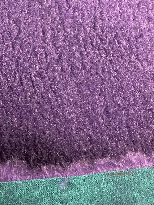 Vet Bedding Purple Green Back