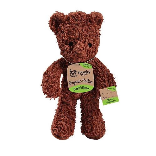 Organic Cotton Bear Puppy Toy S/M