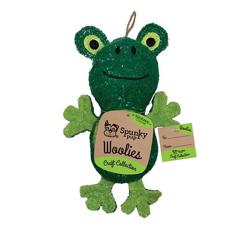 Mini Woolies Frog Puppy Toy S