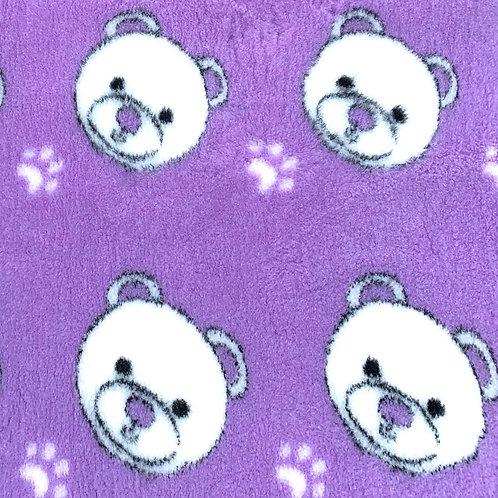 Vet Bedding Non Slip Lilac Teddy