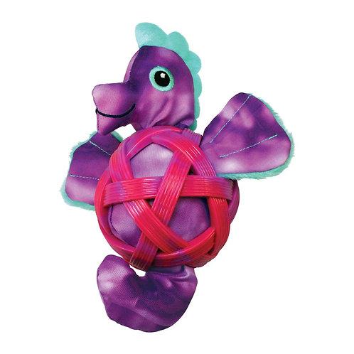 Kong Sea Shells Seahorse Toy Small/Medium