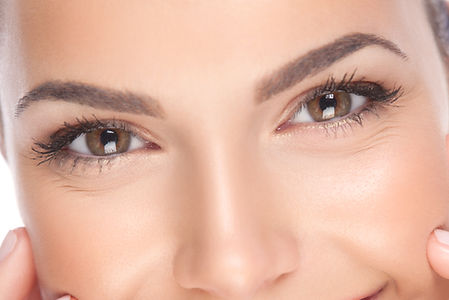 Carboxy Augenschatten dunkle Augenringe