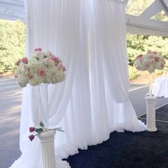 Lush Wedding Backdrop