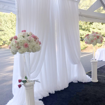 Lush Wedding Backdrop