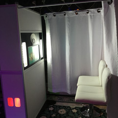 Inclosed Booth