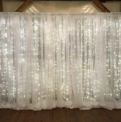 Twinkle Lights Backdrop