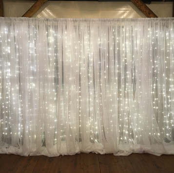 Twinkle Lights Backdrop