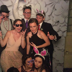 Prom photobooth fun
