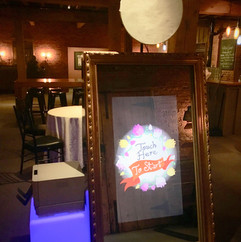 Mirror Booth with your backdrop