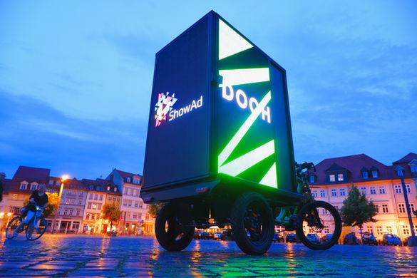 LED Werbebike
