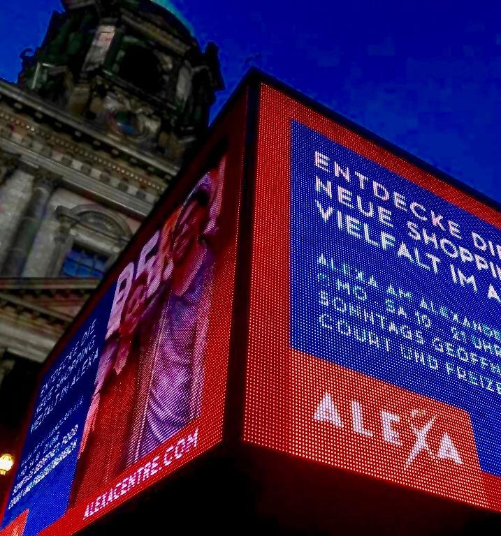 LED TOWER - ALEXA PROMO