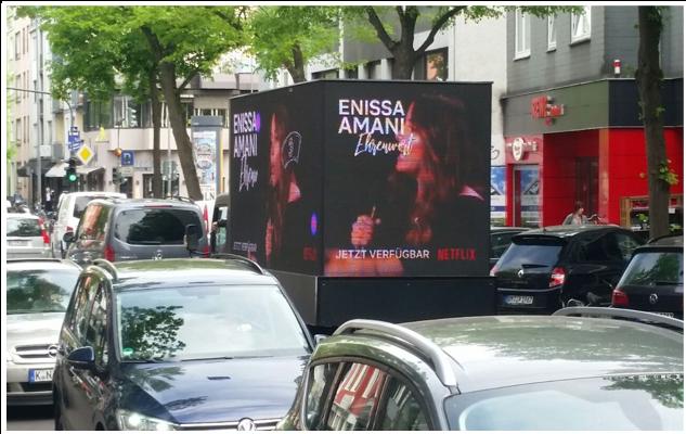 Netflix Event - Enissa Amani