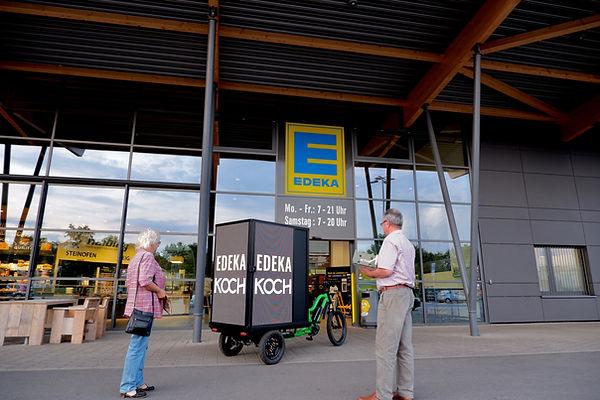 LED Bike für Edeka Koch in Erfurt