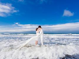 【スタジオ+野外撮影♡】幸福感婚紗撮影工作室・カップルレポート*台湾フォトウェディング*