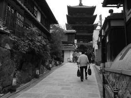 京都観光*八坂の塔*