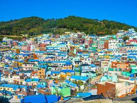 アートの街 甘川洞文化村in 釜山
