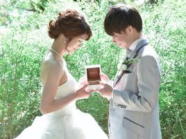 【京都の植物園で撮影♡】カップルレポート*ドレスでロケーション撮影*