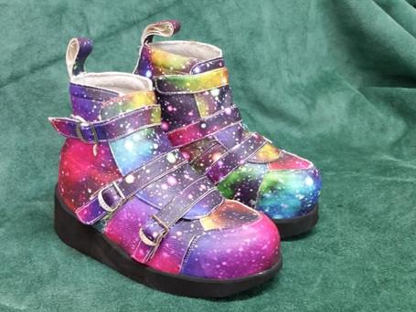 Galaxy boots!