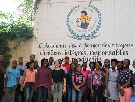 La 9e Année Fondamentale en excursion dans le Nord d'Haïti!